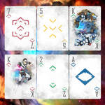 VOLTRON PLAYING CARDS