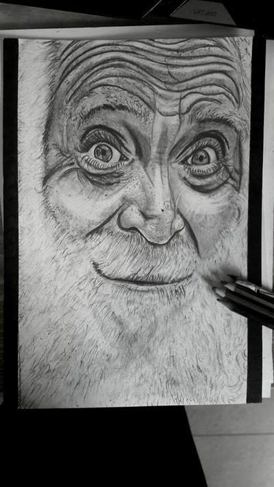 Old man by Maylion