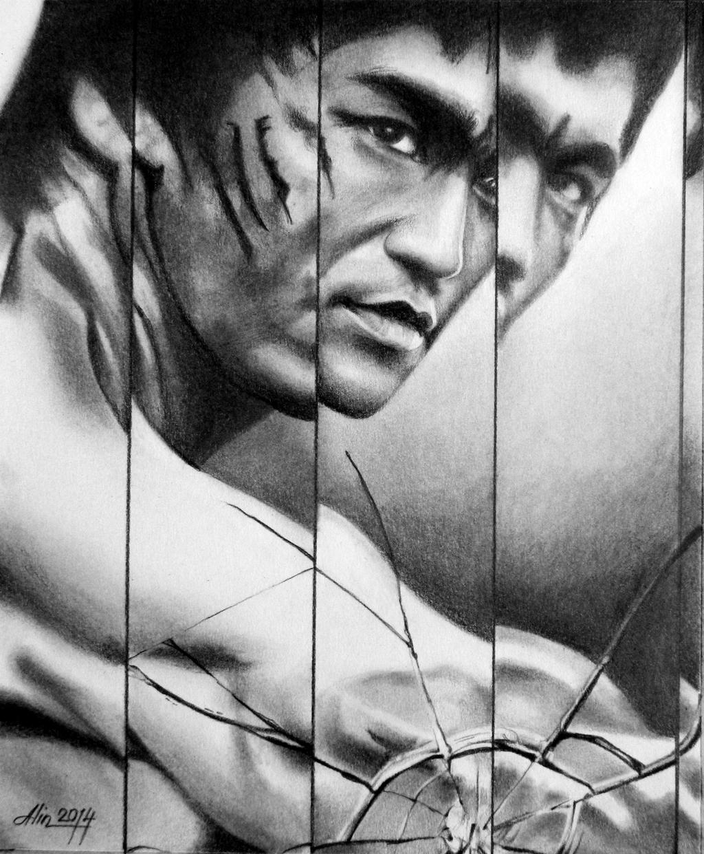 enter the dragon bruce lee by kako