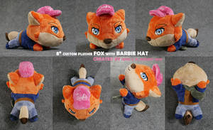 Fox With Barbie Hat