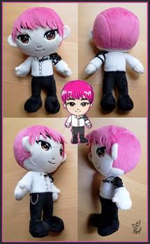 Custom Monsta X Wonho Plushie