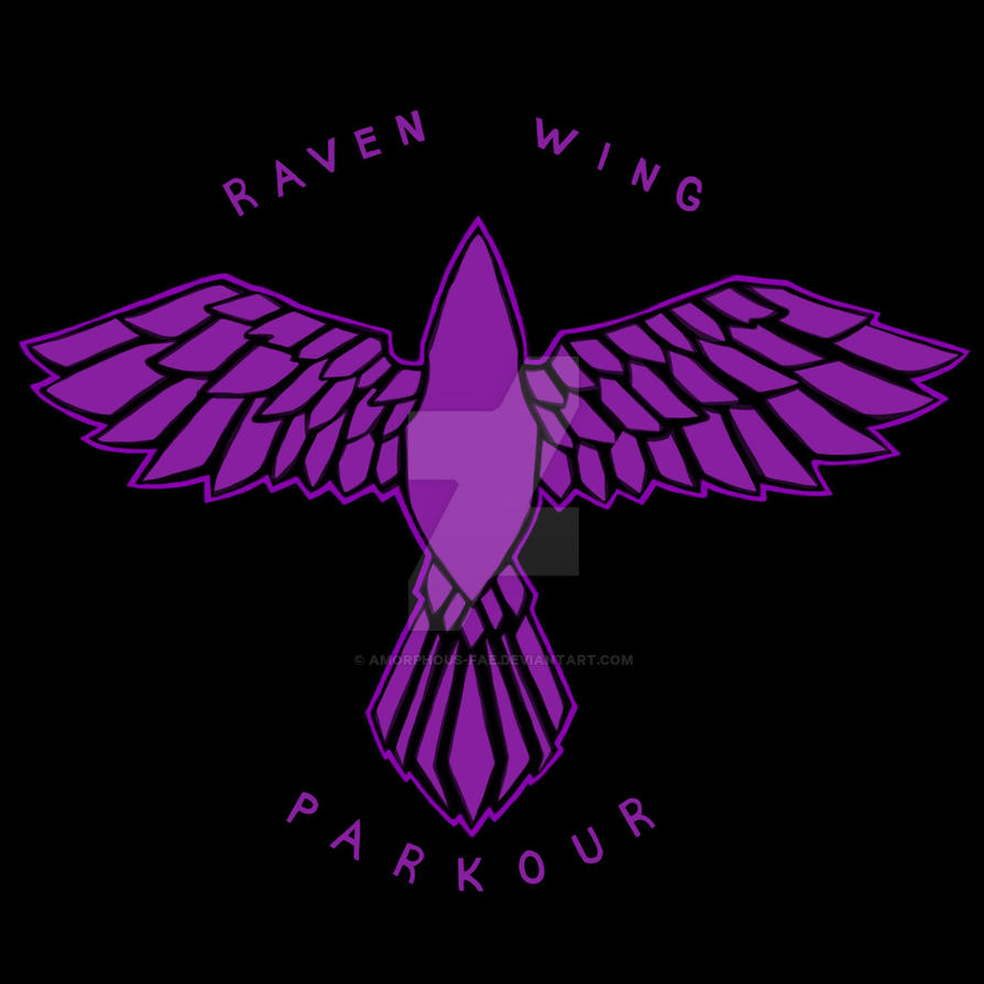 Raven Wing Parkour Logo By Amorphous Fae