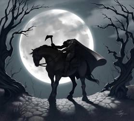 The Headless Horseman by Kanyn