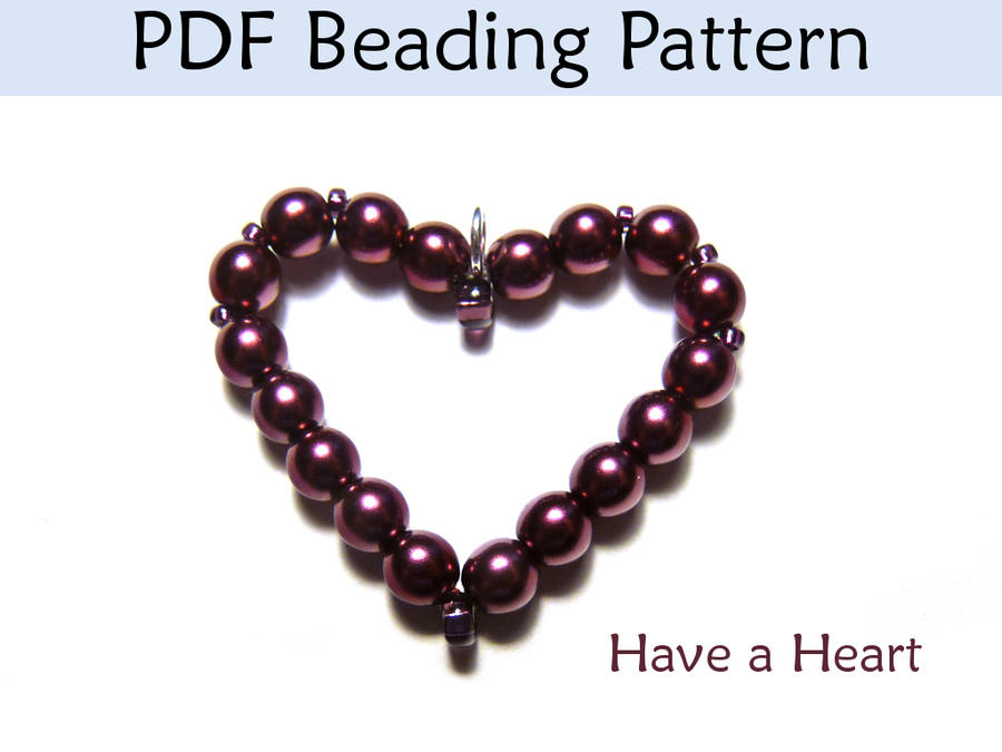 a pdf beading pattern by simplebeadpatterns on