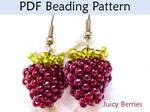 Juicy Berries PDF Beading Pattern by SimpleBeadPatterns
