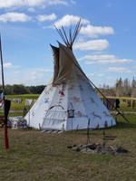 Native American Teepee by traveler1219