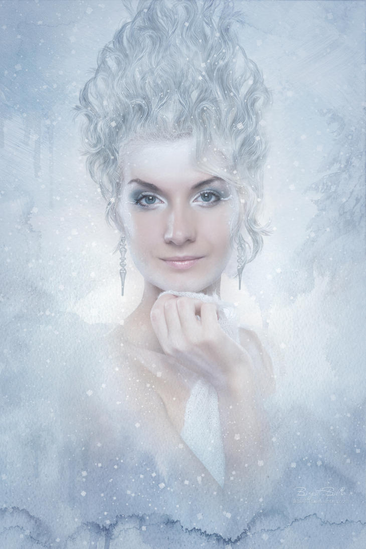Snow Queen by BiBiARTs