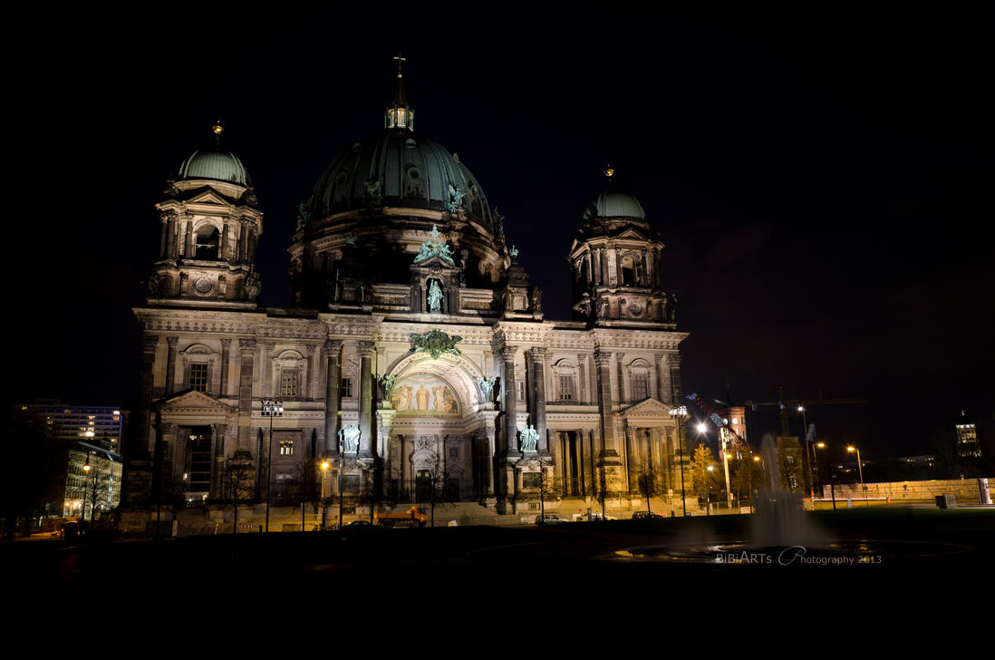 Berliner Dom By Night by BiBiARTs