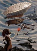 Airship Pirate by Lo-Lo-Liya
