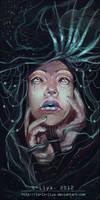Black Mermaid by Lo-Lo-Liya