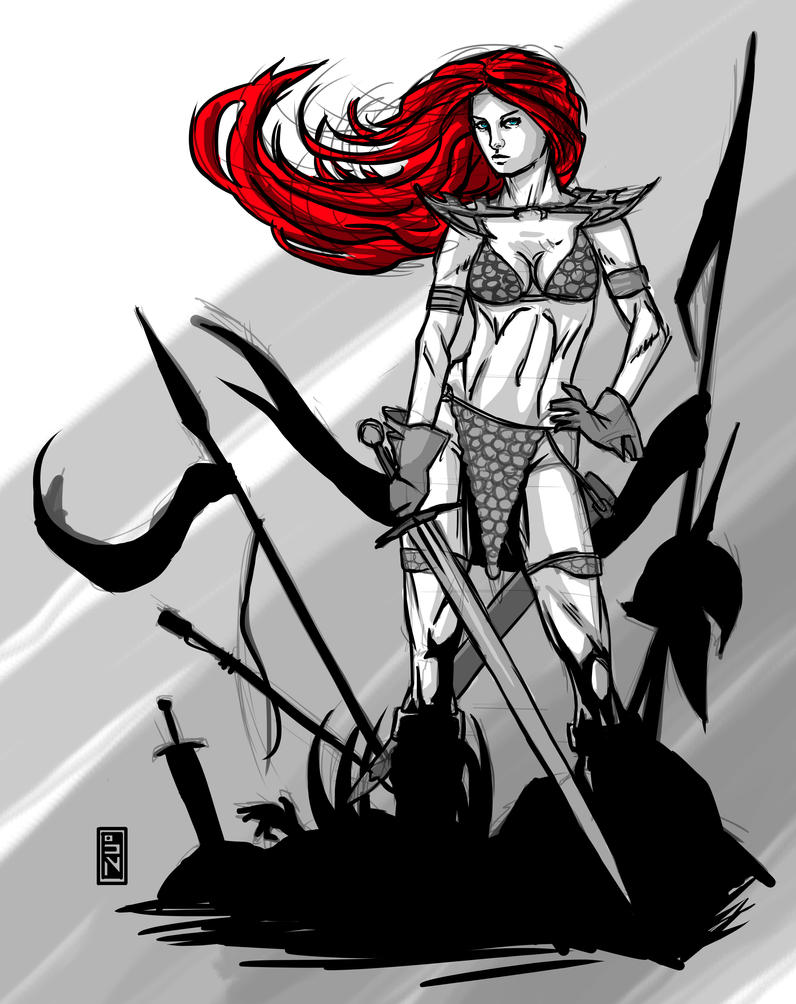 red_sonja_sketch_by_brooparker-d79faw9.j