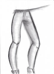 sketch legs
