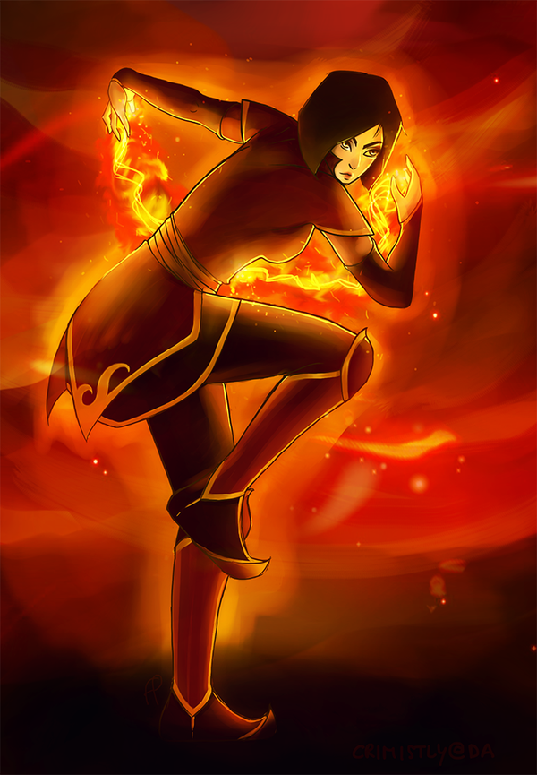 Firebender by Crimistly