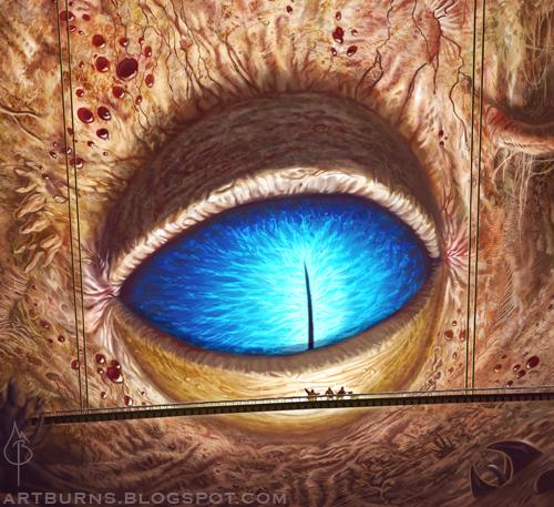 Korrok Eye by FlammablePerson