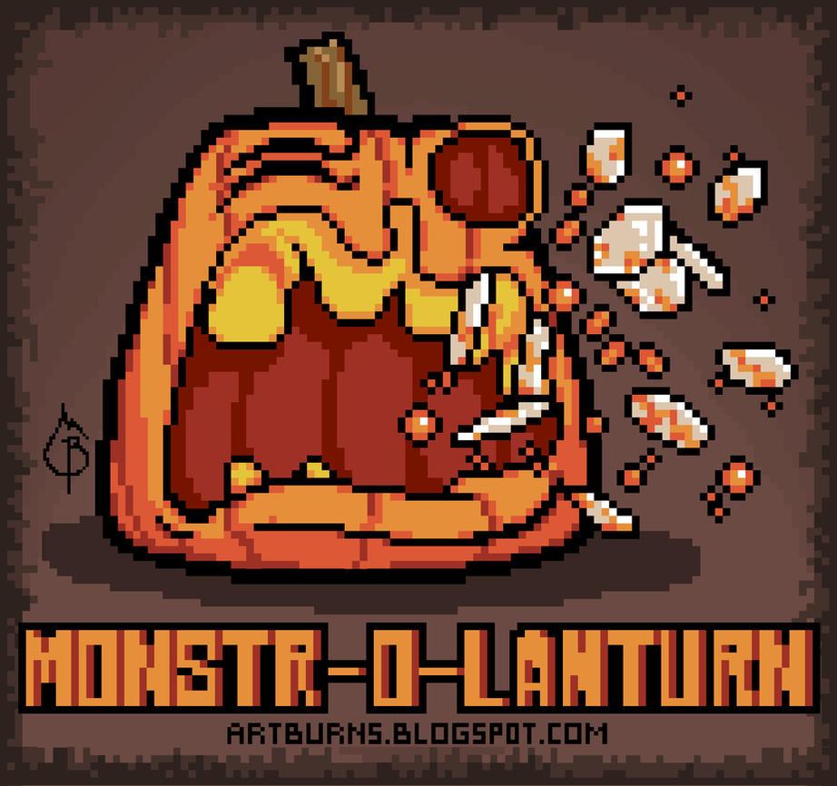 Monstr-o-Lanturn by FlammablePerson