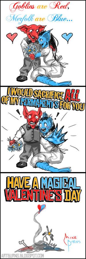 MTG Valentine's Comic