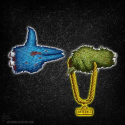 Run the Streets - RTJ4 Album Cover by FlammablePerson