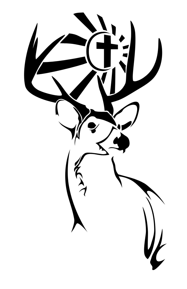 deer tattoo by goalie41 on deviantart. Black Bedroom Furniture Sets. Home Design Ideas