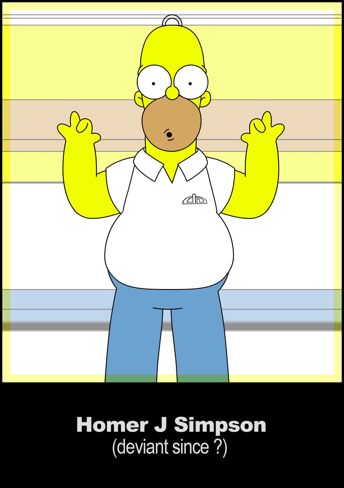 Homer Deviant by goalie41
