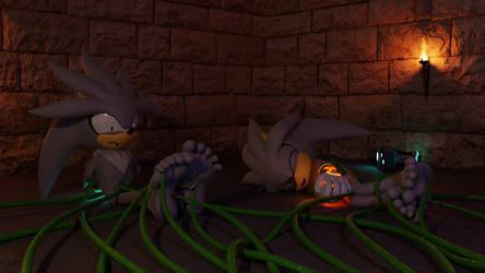 [3D] Silver and Venice's Tickle Dungeon by FeetyMcFoot