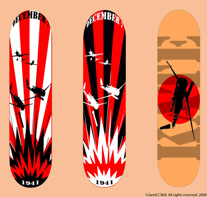 Skateboard Designs By Blackroseid On Deviantart