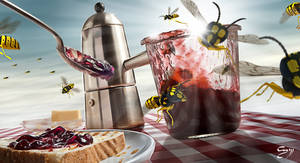 Attac Of The Wasp by LifeDesign-graphics