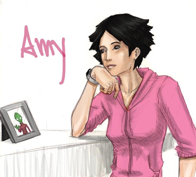 Futurama - Amy Wong 2 by jmaomao
