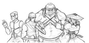 59. Ninja by doodoostew