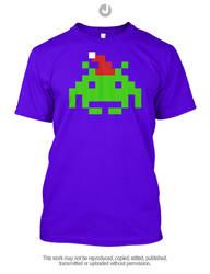 Chirstmas Retro Gaming - Space Invader by Jay-Martin