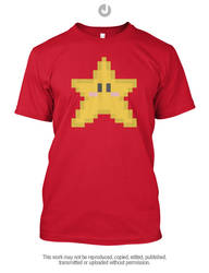 Super Mario - Super Star by Jay-Martin