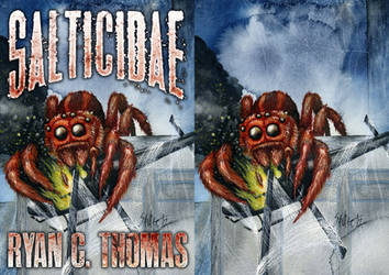 SALTICIDAE Book Cover by SavageSinister