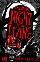 Night of the Living Dead Poster by SavageSinister