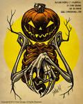 Autumn People 7 (Pumpkin)