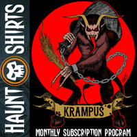 Krampus T-Shirt for Haunt Shirts by SavageSinister