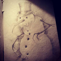 Snowman by SavageSinister