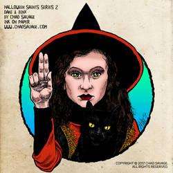 Halloween Saints Series 2: Dani and Binx by SavageSinister