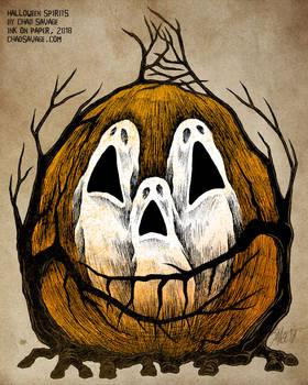 Halloween Spirits by Chad Savage