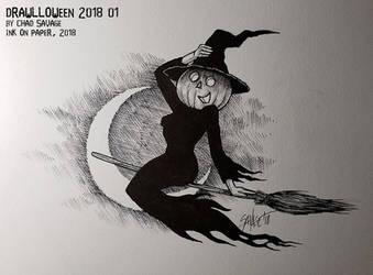Drawlloween 2018 01