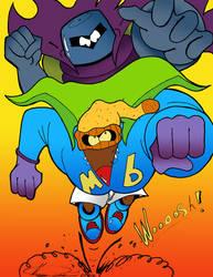 Muscular Beaver WOOOOOSSSSSHHHHH!!! by MrTumminia