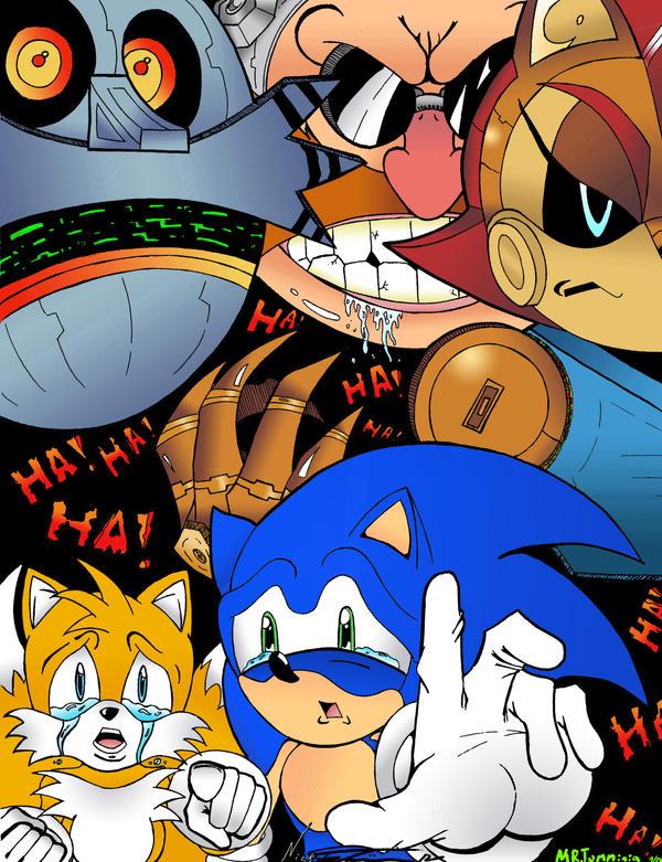 Sonic #6 Set2 by MrTumminia