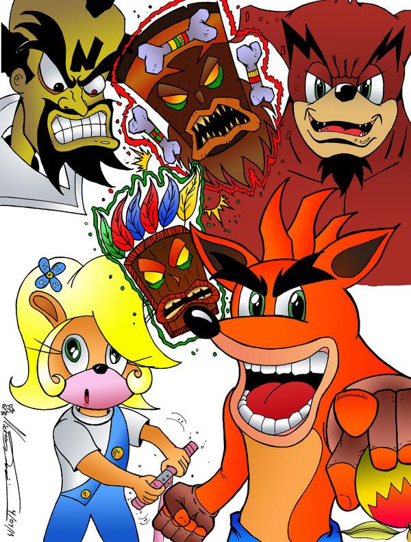 Crash Bandicoot by MrTumminia