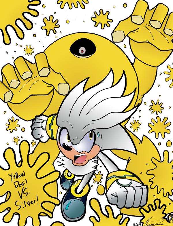 Silver VS Yellow Devil by MrTumminia
