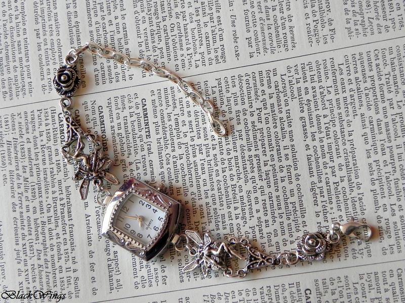 Fairy Watch by BlackWings-jewelry