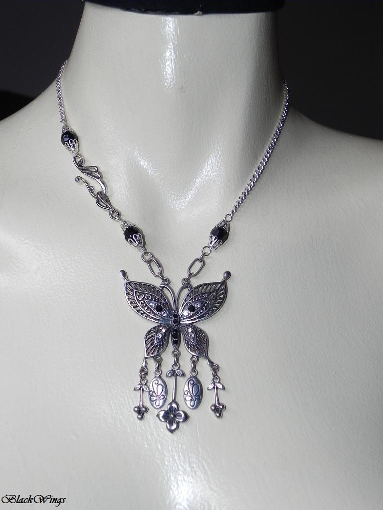 Dark Butterfly by BlackWings-jewelry