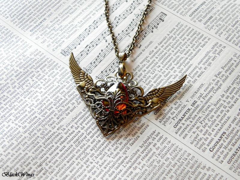Angel Tear by BlackWings-jewelry