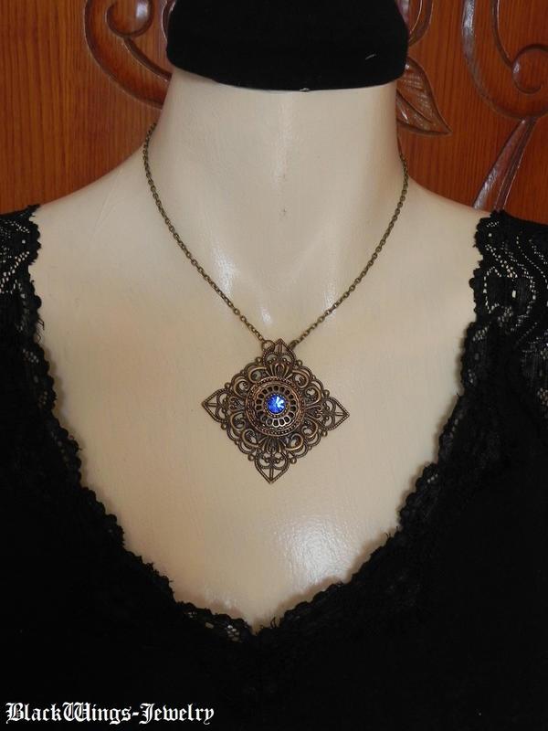 Azzurra by BlackWings-jewelry