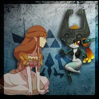 Midna and Zelda avatar by supernicktendo64