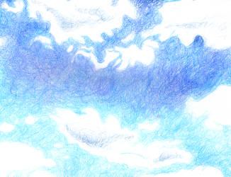 clouds by ScarletFrostStar