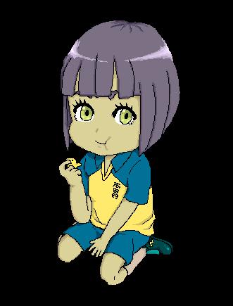 Mana Miyagi Chibi by Momo-Ninja