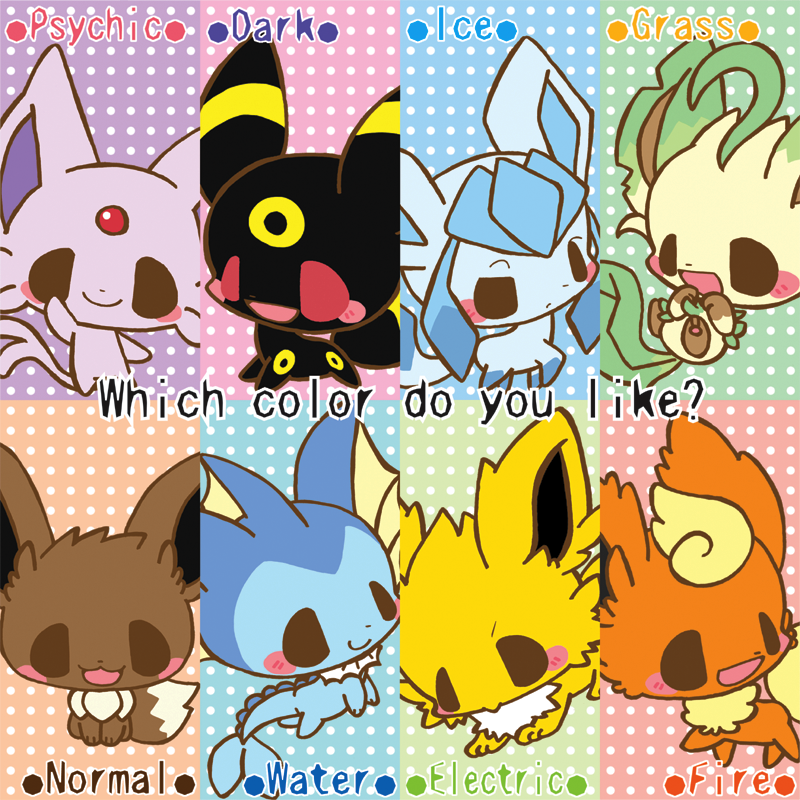 eeveelutions chibi wallpaper - photo #16